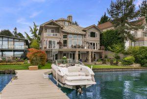 Lake Washington waterfront home